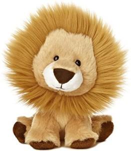 Aurora World Wobbly Bobblee Lion Plush65