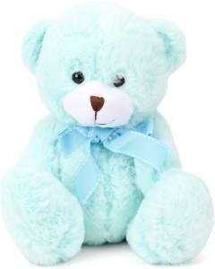 Starwalk Bear Plush with Bow Turquoise Colour 20 cm  - 20 cm