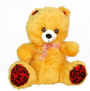 Mayursflora Lovely Furry Yellow Teddy  - 20 inch