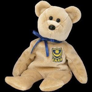 Ty Beanie Ba Premier The Bear (Uk Exclusive)