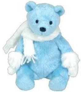 Ty Beanie Ba Icecubes The Bear (Bbom January 2006)