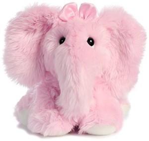 Aurora 0 World Fuzzy Le Phant Pink/Small Plush