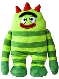 Yo Gabba Gabba Brobee Plush Backpack ( Green ) e6d3d8cdf