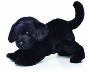 Nat and Jules Black Labrador Plush Large