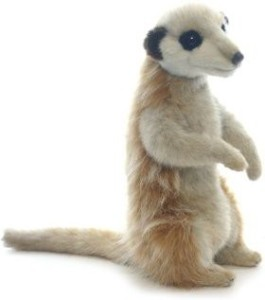 Hansa 3703 11 In Meerkat Young Standin Upright On Two Feet Life