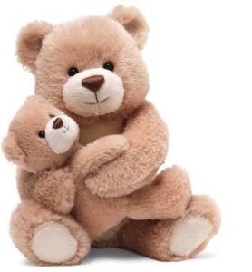 Gund Hallmark Love You Always Beige Bear And Cub 9