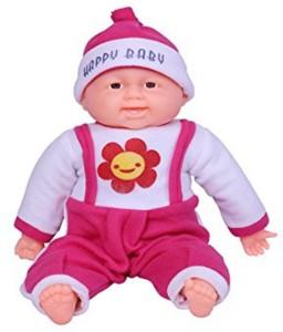 A M Enterprises Laughing Baby Boy  - 20 cm