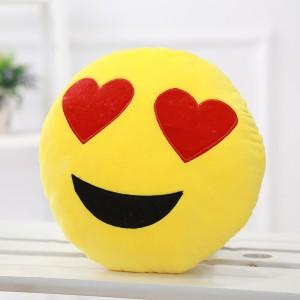 Tickles Whatsapp sofa Smiley Emoticon Heart Eyes  - 33 cm