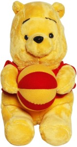Disney Pooh with Ball  - 25 cm