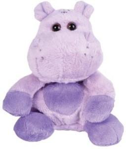 WEEZ Hippopotamus Hippo Beanie Bean Filled Plush Animal