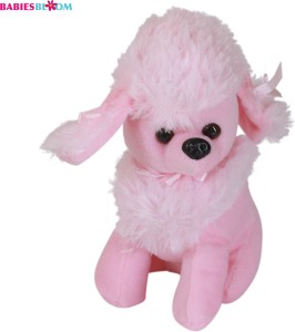 Babies Bloom Pink Kawaii Poodle Dog Puppy Stuffed Plush Dog Toy  - 20 cm