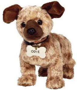 TY Beanie Babies Odie The Dog ( Garfield Movie )