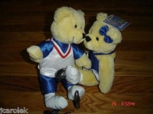 2002 Olympic Winter Games Pr2452 Hallmark Kiss Kiss Bears 2002 Salt Lake Olympic