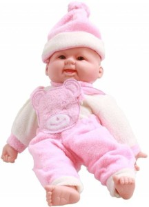 A R ENTERPRISES Cute Laughing Baby for kids  - 20 cm