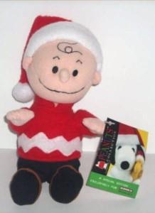 Kohl's Peanuts Collection Rare Peanuts Kohl'S Charlie Brown Plush Winter Bean Bag