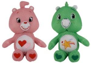American Greetings Care Bears Splish Splashers Lovealot Bear And Oopsy Bear