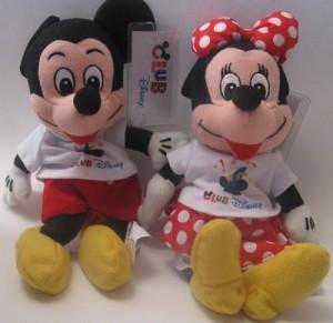 Bean Bag PLush - Mickey and Minnie Disney Bean Bag Plush Mickey Mouse And Minnie Mouse Club