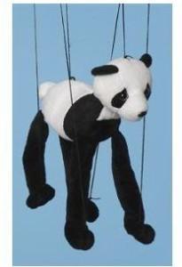 Sunny Puppets Bear (Panda Bear) Small Marionette