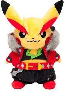 Pokemon Cosplay Pikachu Rock Star Omega Ru & Alpha Sapphire Plush