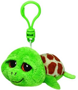 Ty Beanie Boos Zippy - Green Turtle Clip  - 25 inch