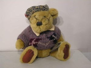 Brass Button Bear Collection Sherwoodthe Bear Of Long Life1996