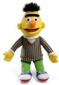 Gund Stuffed Bert 14 Inch Plush Sesame Street Character  - 25 inch