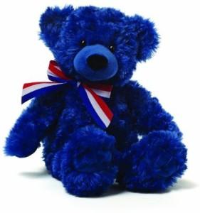 Gund Mary Navy Bear Plush