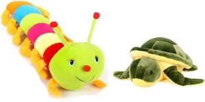 Alexus Caterpillar And Turtle  - 32 cm