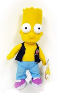 H-M SHOP The Simpsons Character Bart Simpson Plush Doll