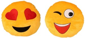 Deals India Deals India Hearts Smiley And Wink Smiley  - 10 cm