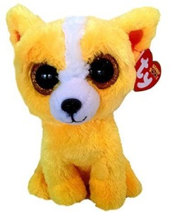 d4cd19842c9 Ty Inc Ty Dandelion The Yellow Dog Beanie Boos Special Edition ...