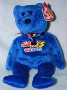 TY Beanie Babies Nascar Bear Kyle Busch 5