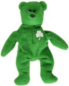 TY Beanie Babies Erin Irish Bear