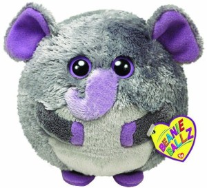 TY Beanie Babies Thunder The Elephant