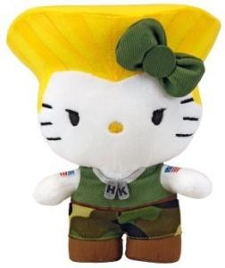 Toynami Hello Kitty Guile Mini Plush