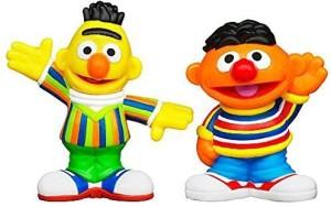Playskool Sesame Street S2Packbert & Ernieofficially Licensed