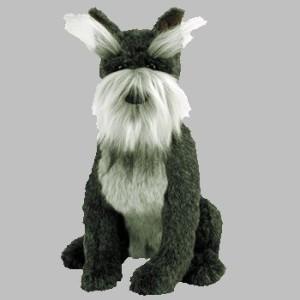 Ty Classic Plush Max The Schnauzer Dog