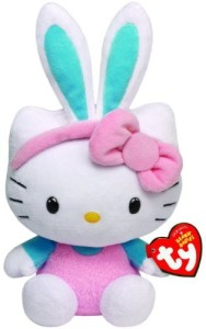 Ty Beanie Babies Hello Kitty with Turquoise Ears Plush  - 25 inch