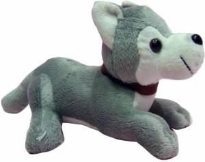 Soft Buddies Sweet Puppies Dog - Grey  - 6 inch