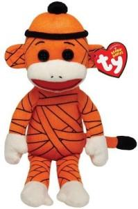 Ty Beanie Babies Sock Monkey Mummy