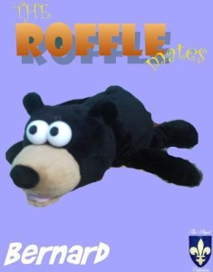 REGAL ELITE, INC Roffle Mates Laughing Electronic Bernard The Black Bear