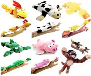 Yosoo 6Pc Set Of Slingshot Flingshot Flying Animals With Sound