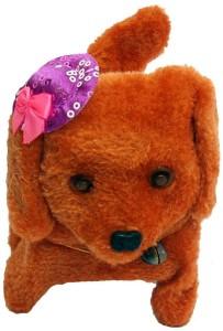 Surya Moving and Barking Dog Toy  - 12 cm