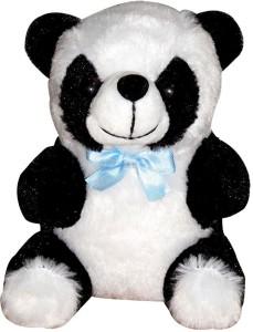 Siddhi Gifts soft toy for kids - Birthday Black Panda 15 cm  - 17 cm