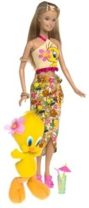 Barbie Year 2003 Looney Tunes Back In Series 12 Inch Doll Set