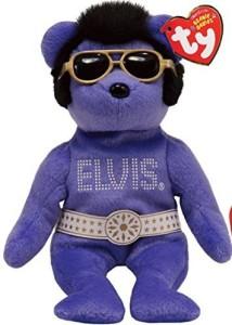 TY Beanie Babies Beanies Beanies Beanies The Elvis Bear