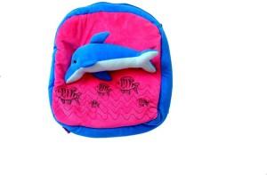 Sana Dolphin Printed School bag cm 36  - 36 cm