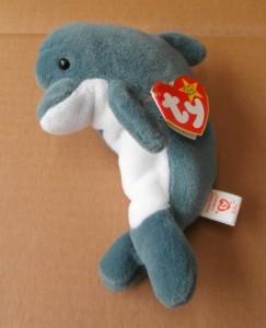 Ty Beanie Babies Echo The Dolphin