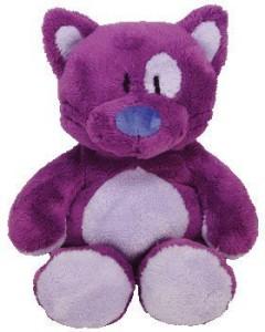 Ty Classic Plush Roller The Purple Cat