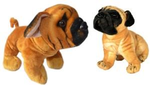 MGPLifestyle Combo of Dog & Pug Dog Soft Toy (32cm)  - 9 cm